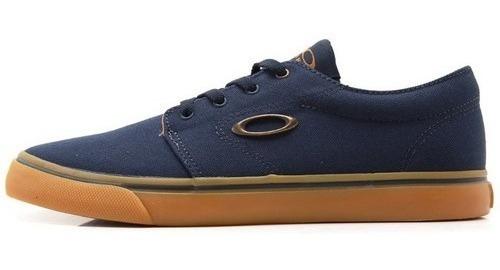 Tenis Oakley Skate Casual Azul/caramelo Split