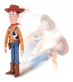 Woody Vaquero Toy Story 4 Juguete Interactivo Habla Se Cae
