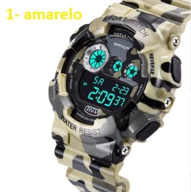 Relógio Modelo G Shok Com Nota 100% A Prova D Aguas Tops