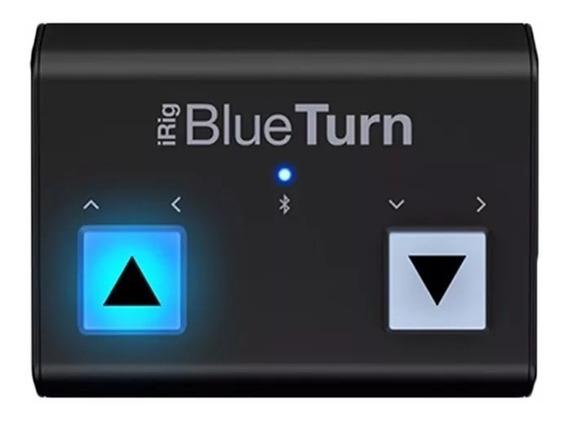 Pedal Controlador Ik Multimedia Irig Blueturn Bluetooth