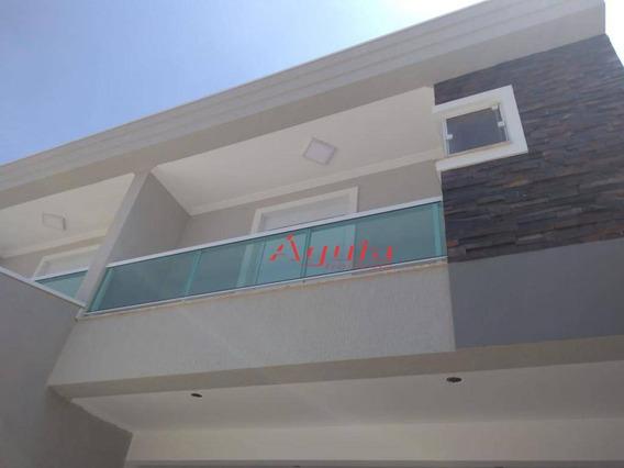 Sobrado Com 3 Dormitórios À Venda, 140 M² Por R$ 750.000 - Centro - Santo André/sp - So1147