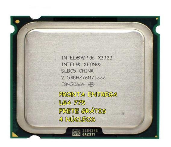 Processador Intel Core 2 Quad Q6600 Xeon X3323 775 + Brinde