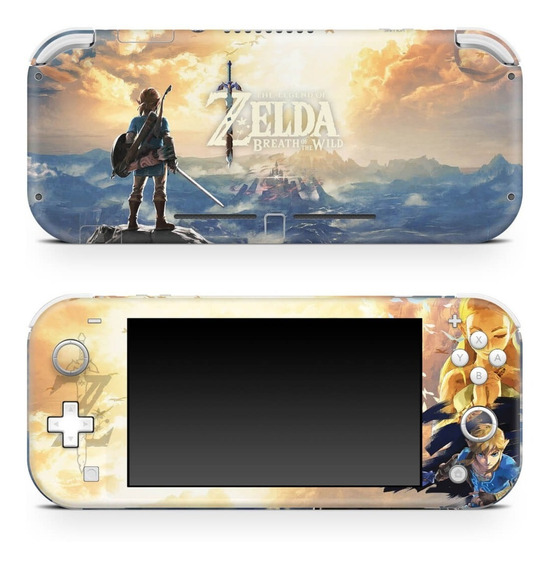 Skin Nintendo Switch Lite Adesivo Zelda Breath Of The Wild
