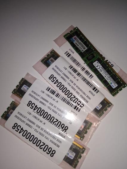 Memoria 64gb 4 X (16gb 2rx4 Pc3-12800r 11-11-e2-p2)