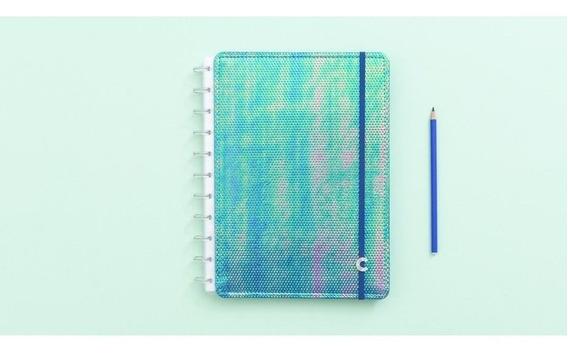 Caderno Inteligente Azul 80f Grande 1 Un