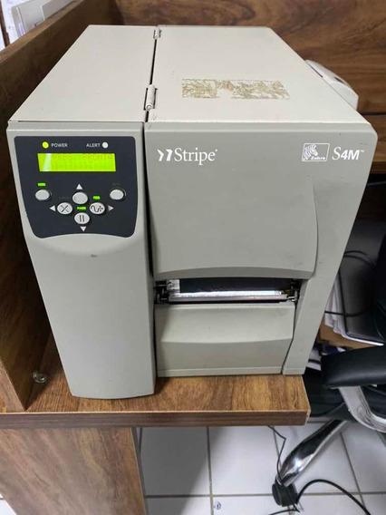 Impressora De Etiqueta Zebra S4m Stripe
