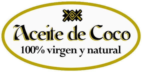Aceite De Coco 100 % Natural Virgen