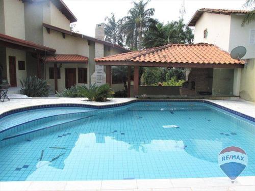 Imagem 1 de 16 de Chácara Com 3 Dormitórios À Venda, 800 M² Por R$ 1.080.000,00 - Parque Da Represa - Paulínia/sp - Ch0098