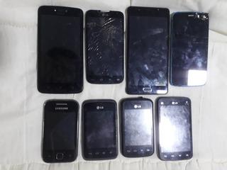 Lote De Celulares Lg Samsung Motorola Blu + Brinde