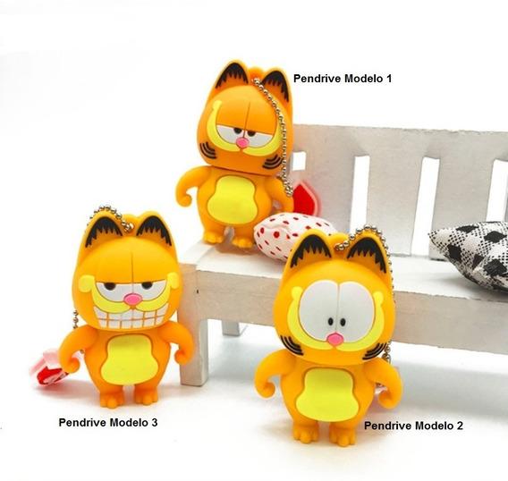 Pen Drive 32gb Infantil Garfield - Frete Grátis Todo Brasil