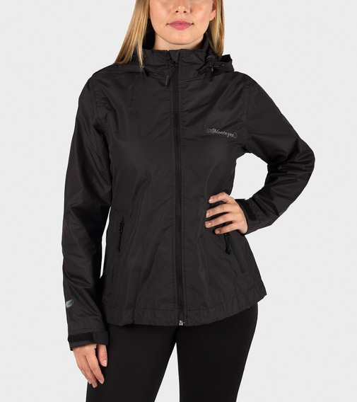 Campera Montagne Jackie Con Red . Rompeviento Impermeable