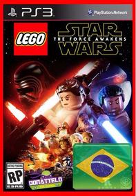 Lego Star Wars O Despertar Da Força Codigo Digital Ps3 Psn