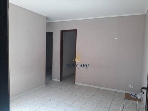 Apartamento Com 2 Dormitórios, 55 M² - Venda Por R$ 219.000,00 Ou Aluguel Por R$ 1.100,00/mês - Vila Rio De Janeiro - Guarulhos/sp - Ap16602