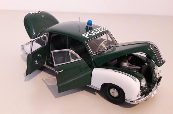 Bmw 501 Policía 1953 República Federal Alemana Auto Art 1/18