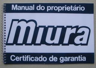 Manual Do Proprietário Miura-targa-spider-saga-787-x8 -