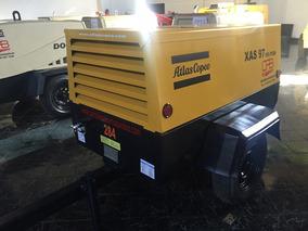 Compresor De 185pcm Atlas Copco Xas 97