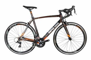 Bicicleta De Ruta En Carbono Grupo Sora Super Look