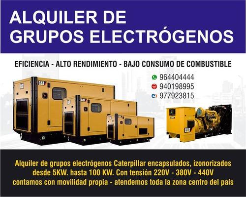 Alquiler De Grupo Electrogeno Y Camion Grua