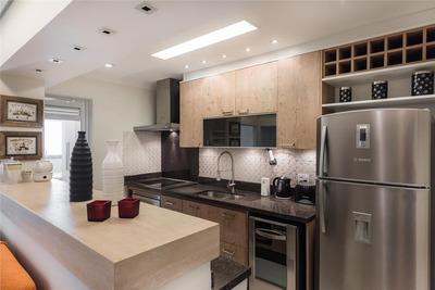 Lindo Apartamento Estilo Flat Próximo À Berrini - Fl0342