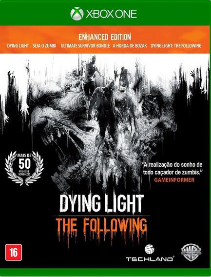 Dying Light The Following Xbox One Mídia Física Lacrado Br