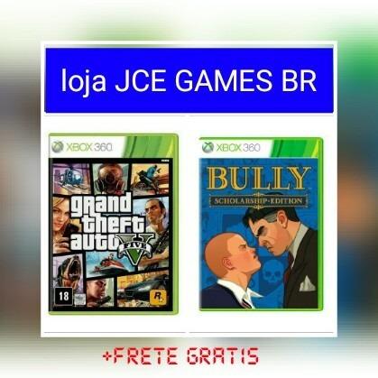 Gta V (+1 Brinde) Midia Digital Xbox 360!!