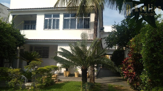 Casa Com 4 Dormitórios À Venda, 302 M² Por R$ 1.500.000 - Centro - Nova Iguaçu/rj - Ca0181