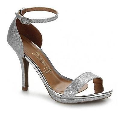 Sandália Salto Fino Vizzano Glitter 6210.414 - Maico Shoes