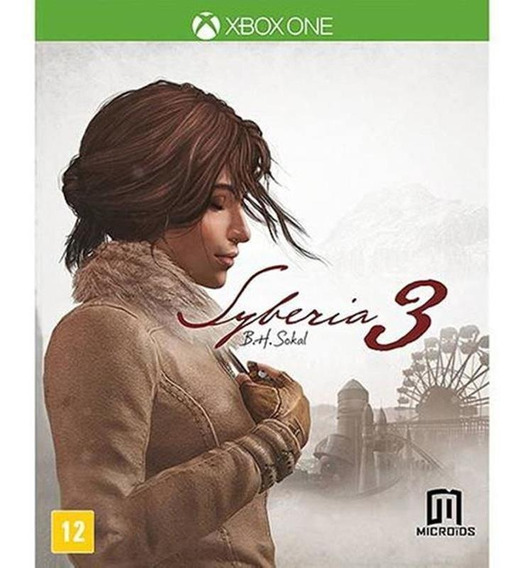 Syberia 3 B.h Sokal Xbox One