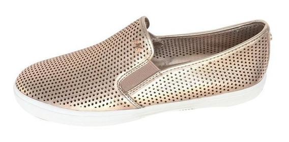 Tenis Michael Kors Rose Gold Keaton Sneakers