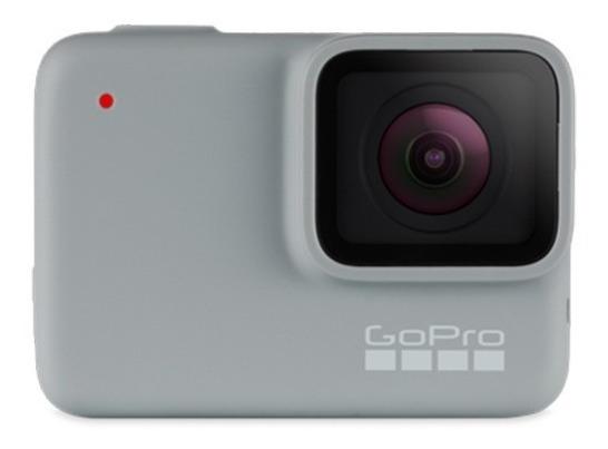Gopro Hero 7 White + Bastão + Adesivos Capacete + Suporte