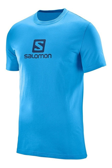 Playera Casual Hombre Manga Corta Cotton Logo Ss Tee Salomon