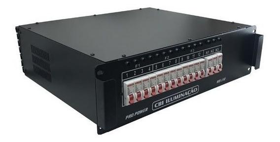 Pro Power Modulo Rack Disjuntor 12 Canais 3 Anos De Garantia - Nfe - Pronta Entrega - Envios Full