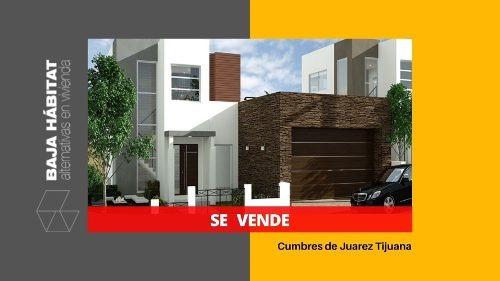 Casa En Cumbres De Juarez Tijuana ¡una Joya! 3 Recamaras