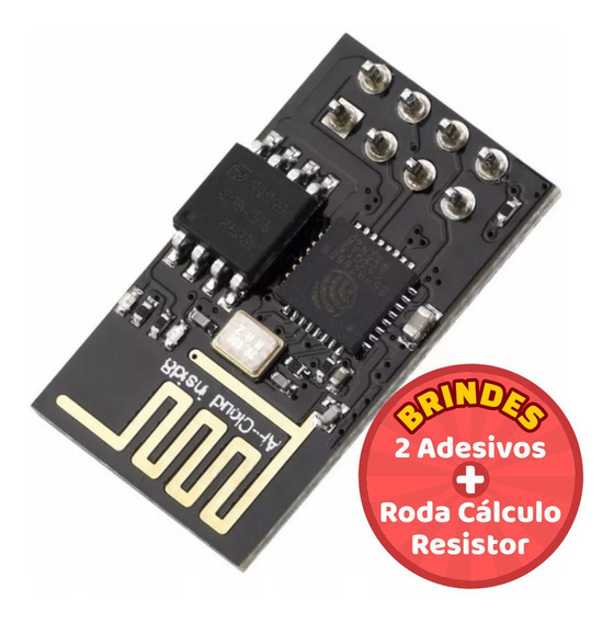 Módulo Wifi Esp8266 - Esp-01 Para Arduino + Brindes