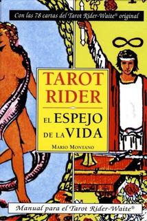 Tarot Rider Waite Libro Y Cartas - El Espejo De La Vida