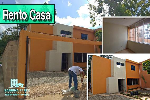 Rento Casa En La Autopista De San Isidro