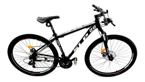 "Imagen 1 de 1 de Mountain bike SLP 25 Pro R29 20"" 21v frenos de disco mecánico cambios Shimano Tourney TZ31 y Shimano Tourney TZ500 color negro/blanco/gris con pie de apoyo"