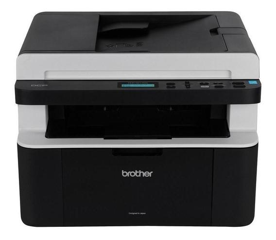 Impressora multifuncional Brother DCP-1 Series DCP-1617NW 110V - 120V preta