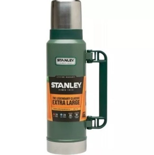 Termo Stanley Clasico 1.3 Litros Pico Cebador Verde Evotech