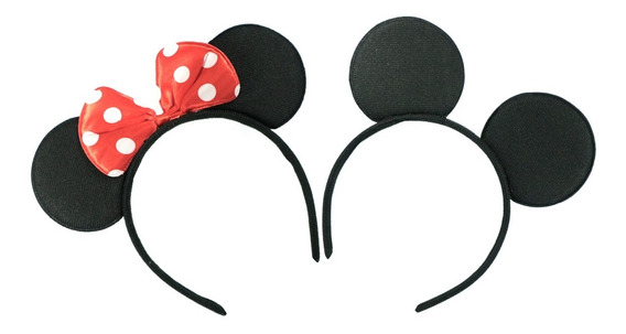 50 Diademas Mickey O Minnie Mimi Mouse Para Fiestas Eventos