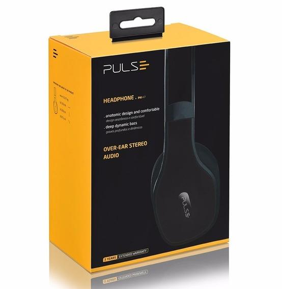 Fone Bluetooth Headphone Pulse Multilaser Frete Gratis