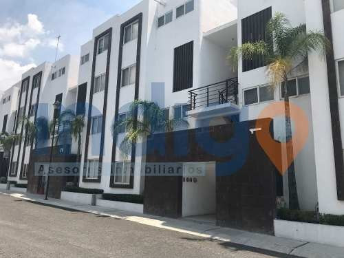 Departamento En Renta Amueblado (en Santa Fé, Juriquilla) La Península
