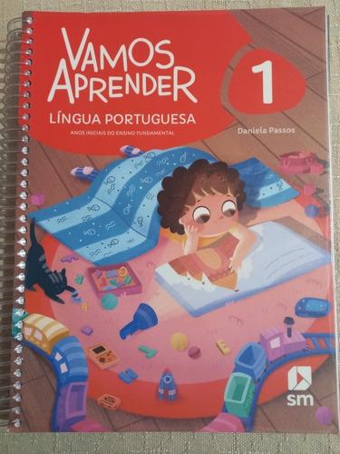 Livro Vamos Aprender Língua Portuguesa E Matemática - 1 Ano