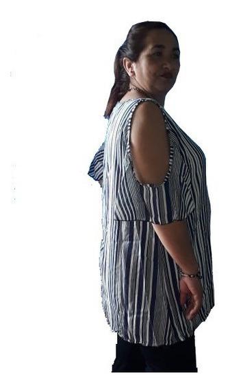 Remera Mujer Nueva Talle Grande Fibrana Xl Xxl Y 3xl