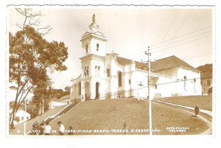 Foto Postal Colombo 4 - Juiz De Fora - Igreja São Sebastião.