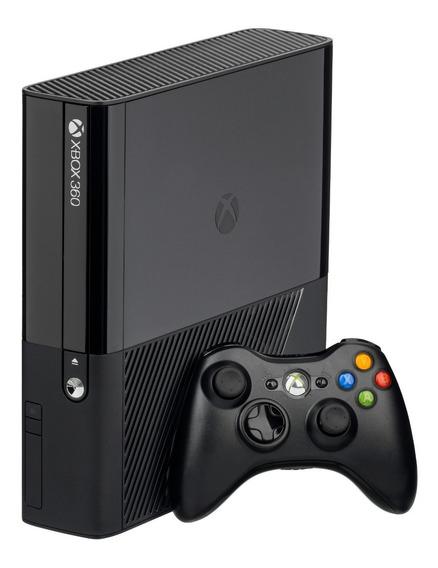 Xbox 360 Super Slim Com 1 Controle Original + 1 Jogo