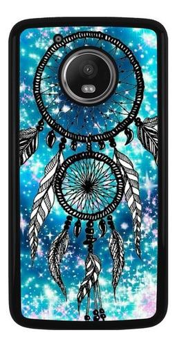 Imagen 1 de 1 de Funda Protector Celular Motorola Moto Atrapasueños Moda 01