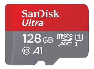 Cartão Memoria Ultra Micro Sd Sdxc 128gb A1 Nintendo Switch