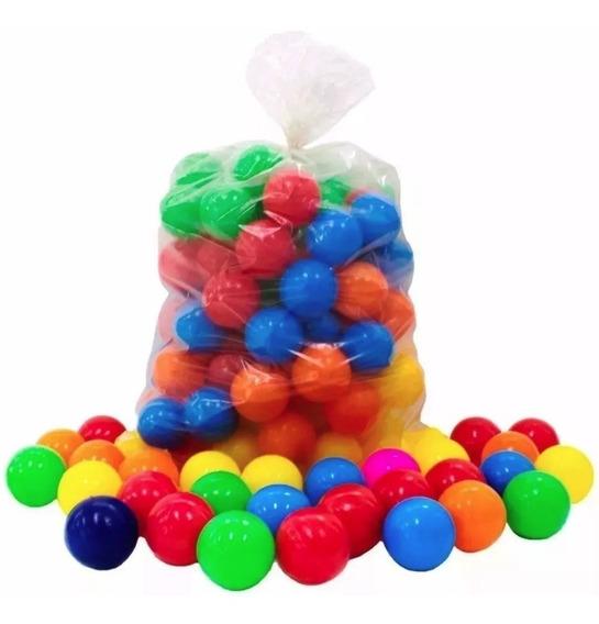 Bolinhas Para Piscina 50 Coloridas