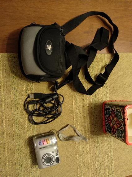 Camara Nikon Coolpix 5600 5.1 Megapixels Con Estuche Y Cable